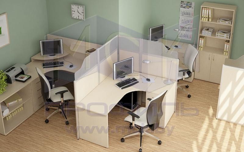 мобильные офисные перегородки 4
