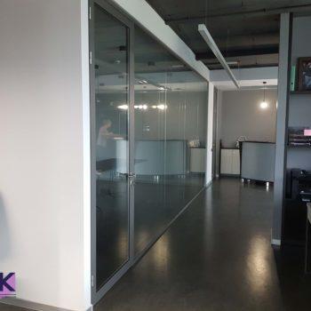 стеклянные перегородки в офис 6