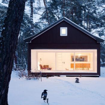 дом с панорамным остеклением 2