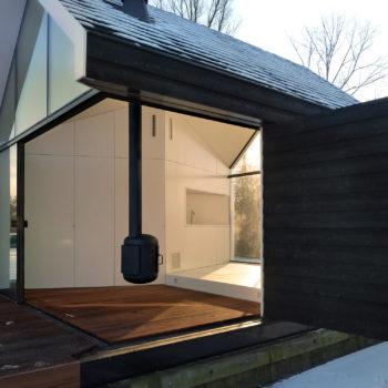 дом с панорамным остеклением 3