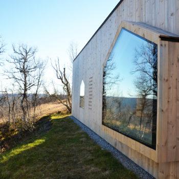 дом с панорамным остеклением 4