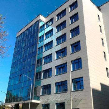 Остекленный фасад, фото с готового объекта 3