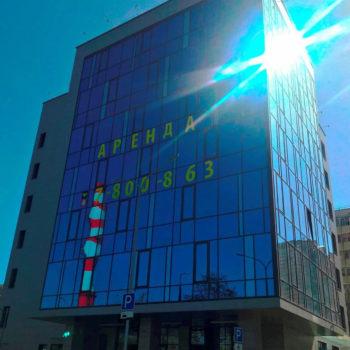 Остекленный фасад, фото с готового объекта 4