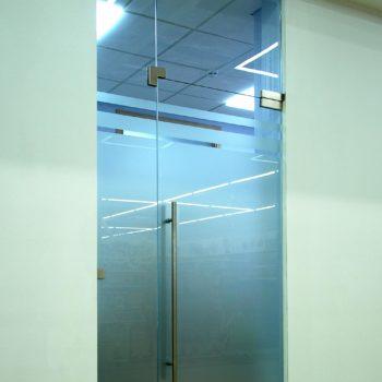 стеклянная входная дверь, 2