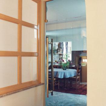 стеклянные двери для дачи фото