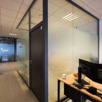 стеклянные перегородки в офис 2