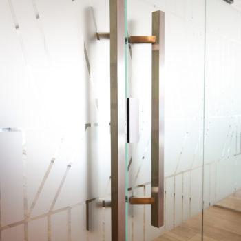 стеклянные двери матовые, фото 2
