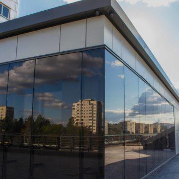 остекление зданий - фото готовых работ