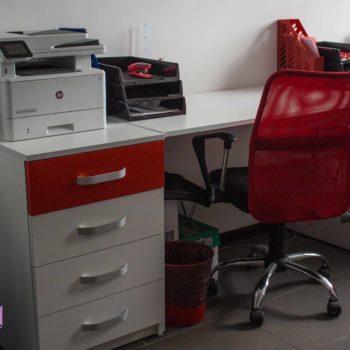 Офисное рабочее место сотрудника