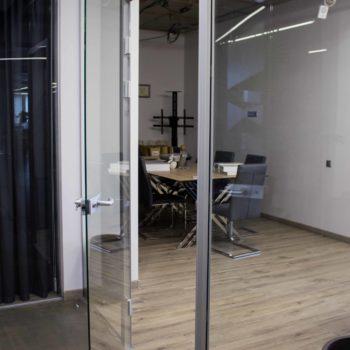 стеклянная входная дверь, фото 5