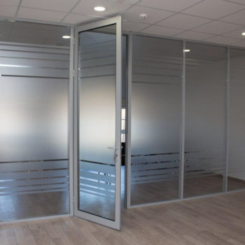 алюминиевые перегородки для офиса - фото 2
