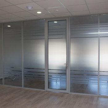 алюминиевые перегородки для офиса - фото 3