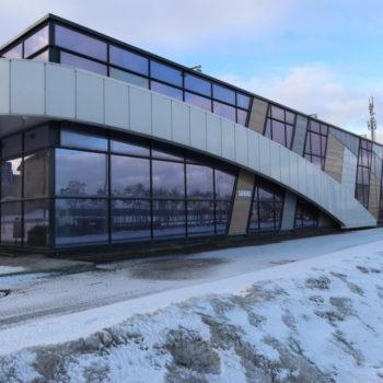 Остекленный фасад, фото с готового объекта 19