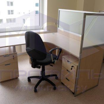 Офисная перегородка на стол