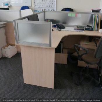 мобильные офисные перегородки на столы