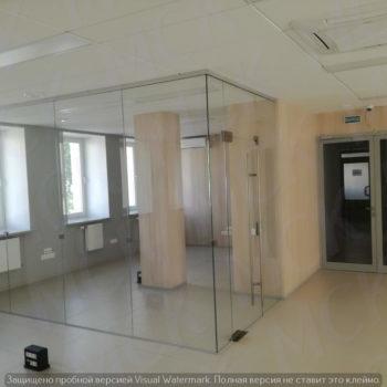 стеклянные офисные перегородки (прозрачное стекло), фото 2