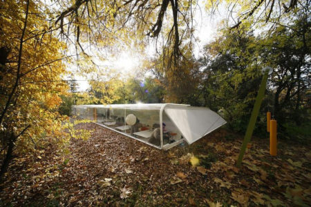 Слияние с природой в офисе Selgas Cano Architecture (Испания, Мадрид)